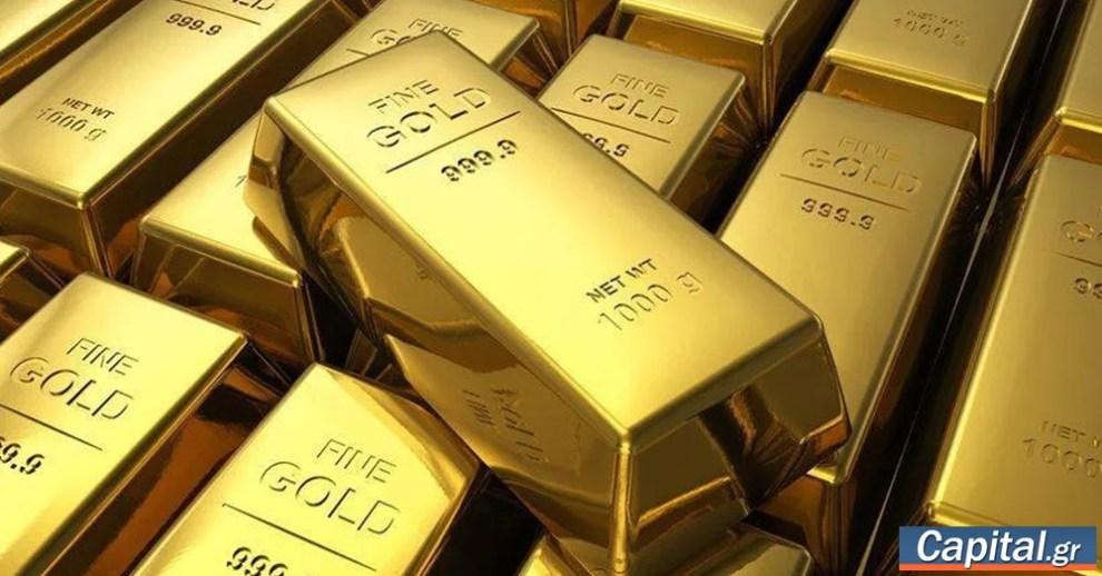 Σε υψηλό έξι εβδομάδων ο χρυσός