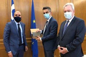 Χ. Δήμας: Δρομολογείται διακρατική συμφωνία Ελλάδας – Κύπρου στην έρευνα και την καινοτομία