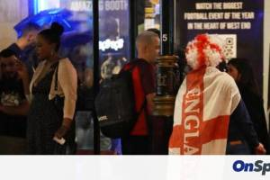 Euro 2020: Ξύλο Άγγλων οπαδών έξω από το Γουέμπλεϊ (video)