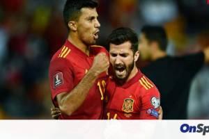 Προκριματικά Μουντιάλ 2022: Επιστροφή με τεσσάρα για την Ισπανία - Κόλλησε στην Ελβετία η Ιταλία