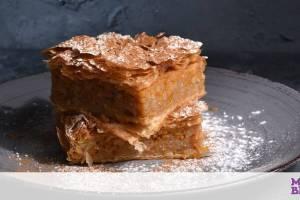 Κολοκυθόπιτα γλυκιά με ρύζι και κανέλα - Πώς θα τη φτιάξετε
