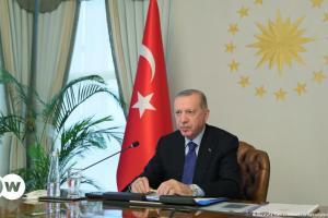 Ο εγκλωβισμένος Ερντογάν | DW | 13.10.2021