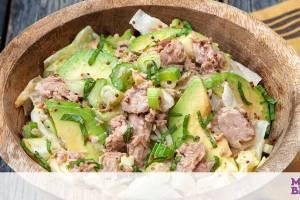 Τονοσαλάτα με αβοκάντο και χυμό λεμονιού – Έτοιμη σε 15 λεπτά
