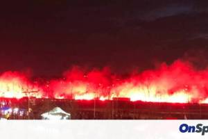 Champions League: Τρομερή υποδοχή στην Ατλέτικο - Έγινε η νύχτα... μέρα (video)