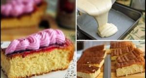 Торта 5 лъжици – няма какво да пишеш рецептата, толкова е лесна! Добавяш каквото си поискаш и все става вкусно: