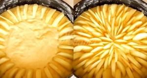 Правя тестото и слагам ябълки- такъв вкусен ябълков пай няма никъде!