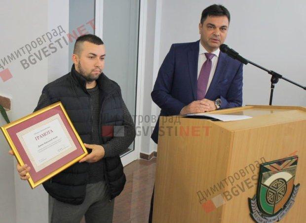 Дамян спаси 23-ма от огнена смърт