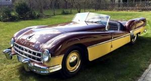Реставрираха най-красивата кола на СССР ВИДЕО
