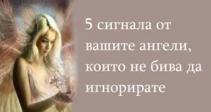 5 сигнала от вашите ангели които не бива да игнорирате