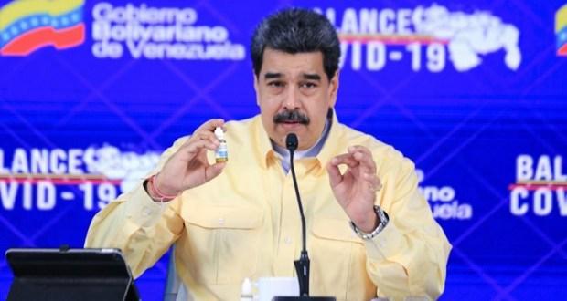 Мадуро представя медикамент който убива К-19 на 100% с 10 капки на езика
