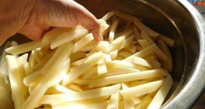 Здравословни пържени картофи в микровълнова без мазнина