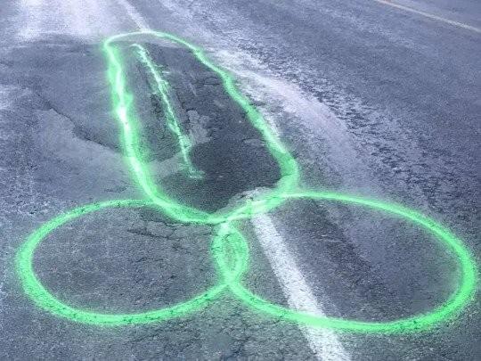 Дупки на пътя