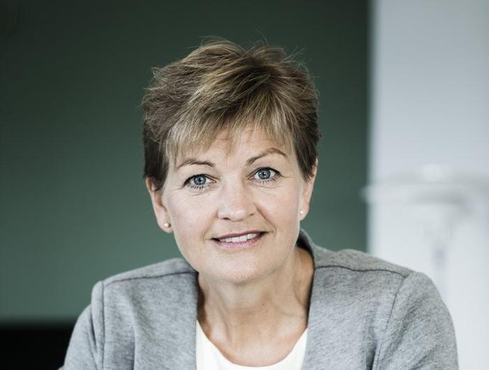 Eva Kjær Hansen trækker sig som miljø- og fødevareminister . PRfoto.