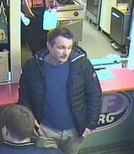 Bornholms Politi efterlyser identiteten på denne mand. Foto: Politiet.