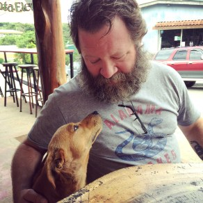 John made friends with every stray dog in Monteverde