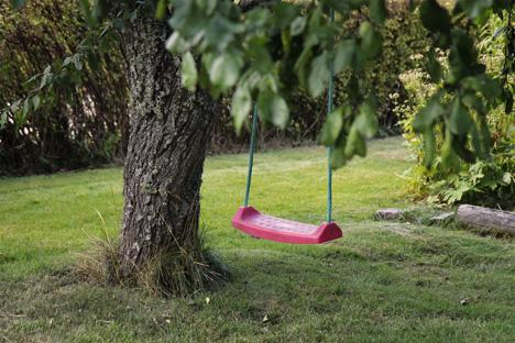 gunga i träd