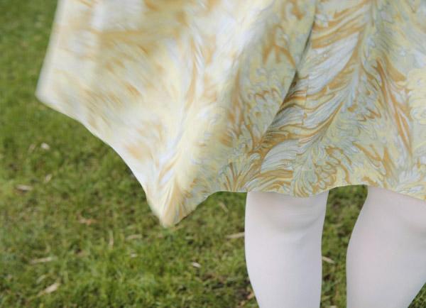 klänning i vinden