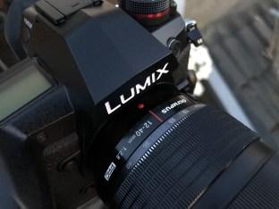 Lumix G9 mit dem Oly 2,8/12-40