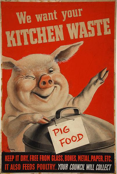 Gilroy Kitchen waste(pig_with_dustbin)_Artist_Gilroy