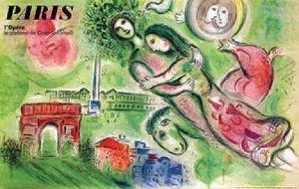 Chagall Paris-l'Opéra