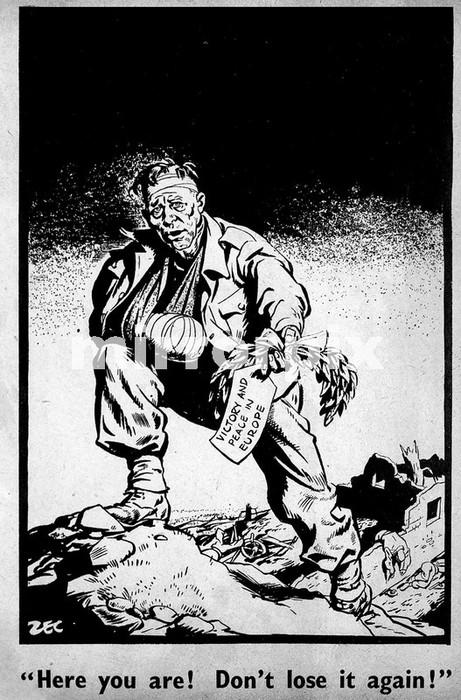 Daily Mirror Cartoon / Illustration - by Philip Zec