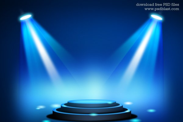 free stage lighting background