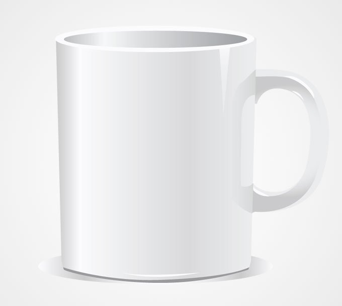 Free White Tea Mug/Coffee Cup PSD files, vectors