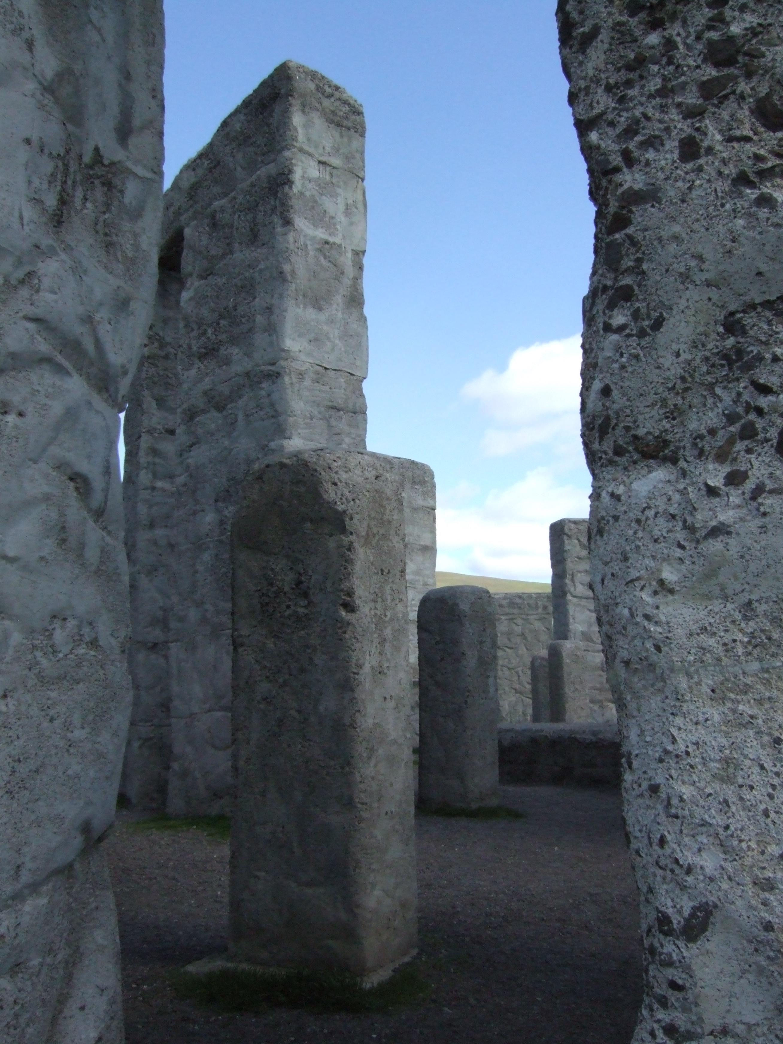 Center area of Sam Hill's Stonehenge