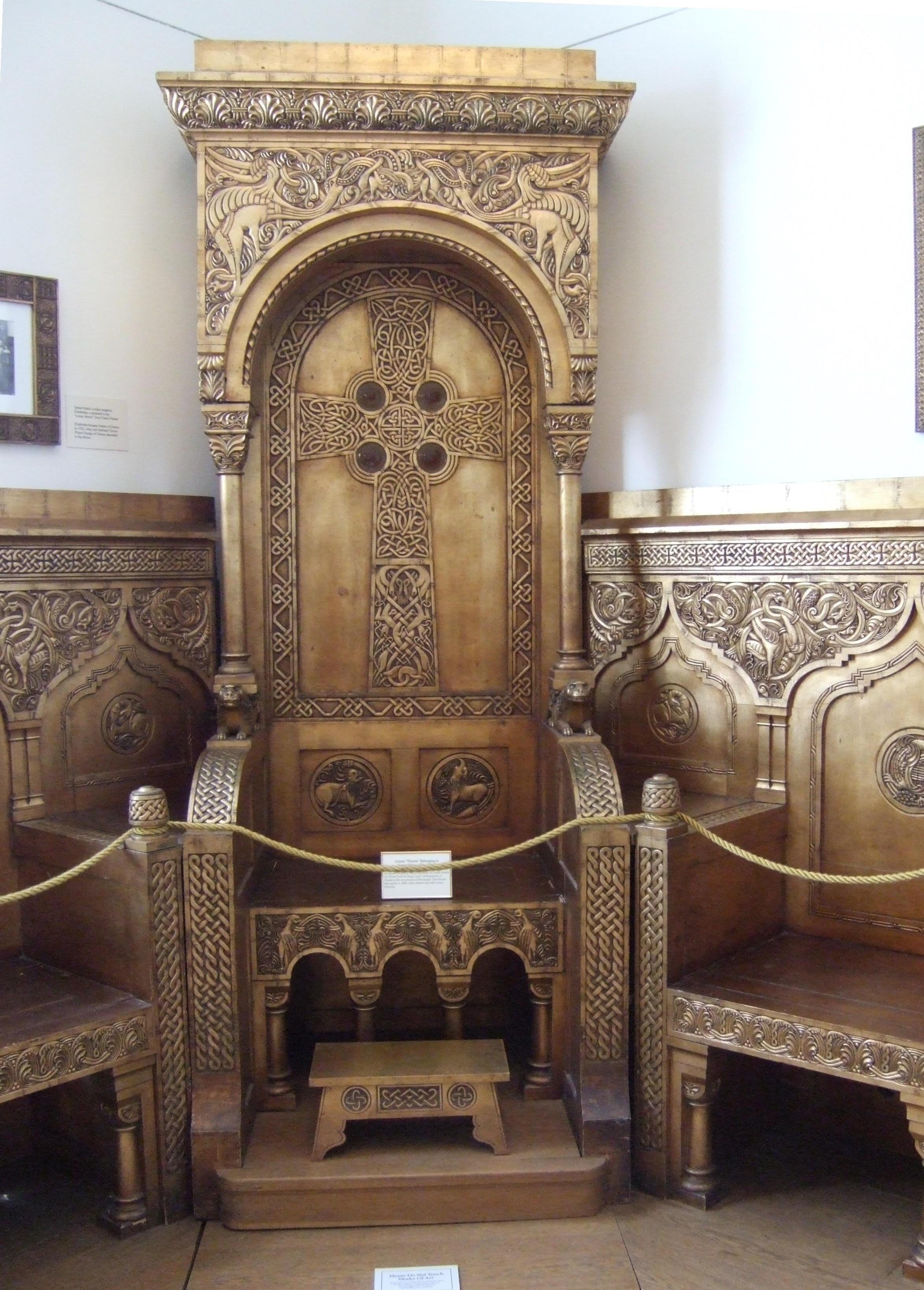 Queen Marie's throne