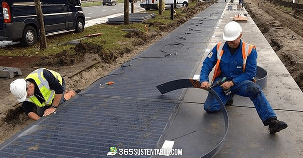 Calle Solar en Holanda