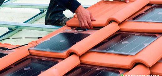Tejas solares fotovoltaicas, el futuro de la energía solar los techos de las viviendas