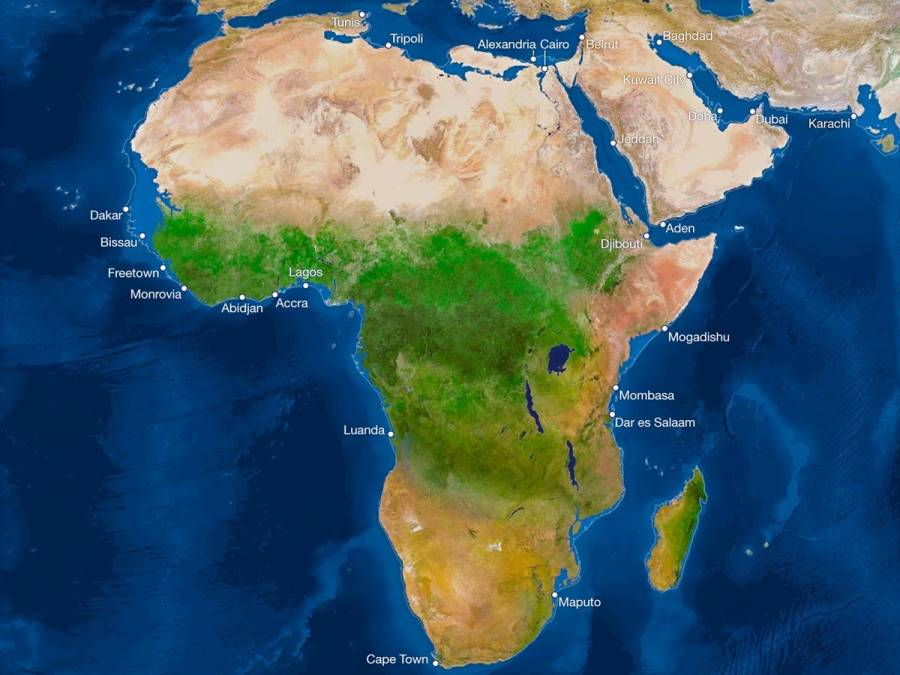 Las consecuencias del deshielo en África