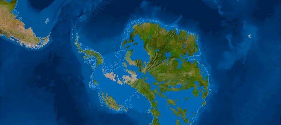 Así será la tierra cuando se derrita todo el hielo