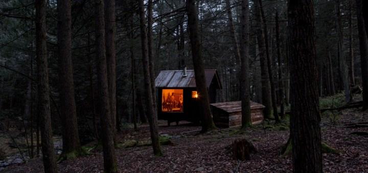 ¿Alguna vez pensaste en irte a vivir al medio del bosque lejos de todo?