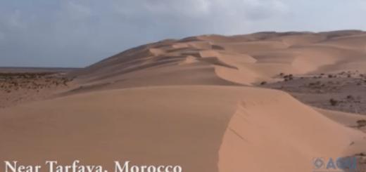 Dunas Cantoras de Marruecos