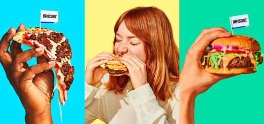 Impossible Foods, Hamburguesas sin carne