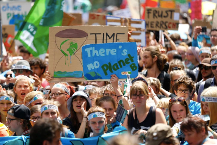 Fridays for Future marcha global contra el clima
