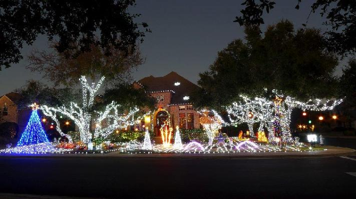 Christmas Light Display Benefitting Make A Wish 365 Things To Do In Austin TX