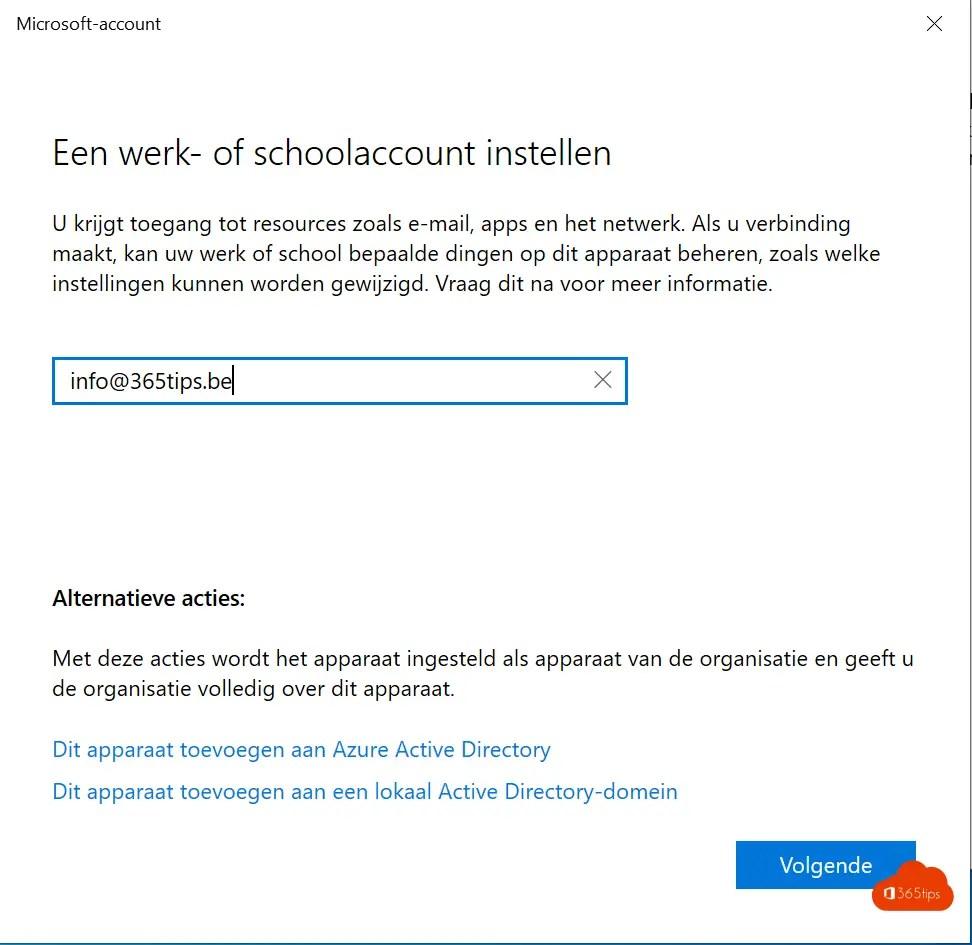 Voeg je Office 365 werk-account toe aan je thuis computer in 5 stappen!
