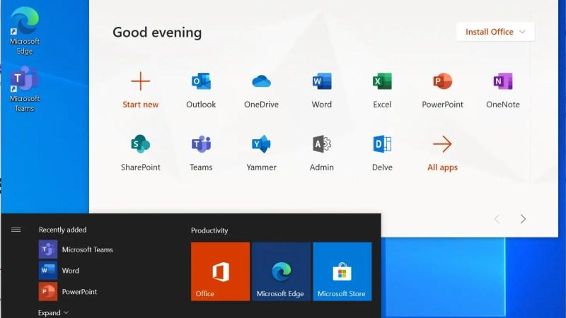 Alle url's van de Microsoft 365 services