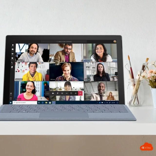 Microsoft MicrosoftTeams 9 personen