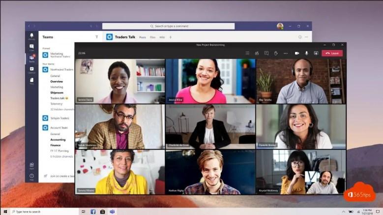 Multi-Window Meetings Microsoft Teams ID: 57294