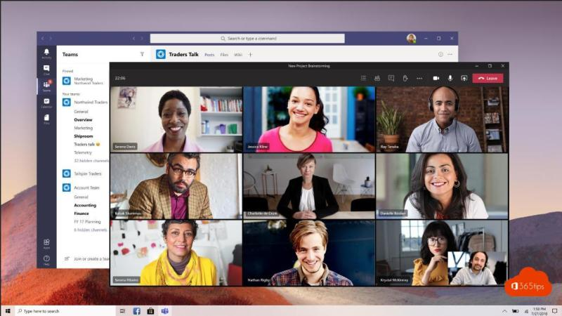 Multi-Window Meetings Microsoft Teams