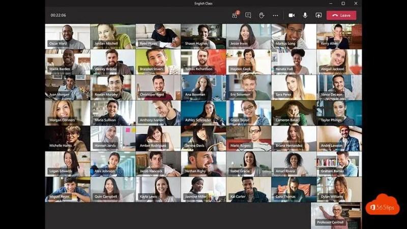 20 updates voor Microsoft-teams voor het onderwijs, waaronder 7×7 video en Breakout Rooms
