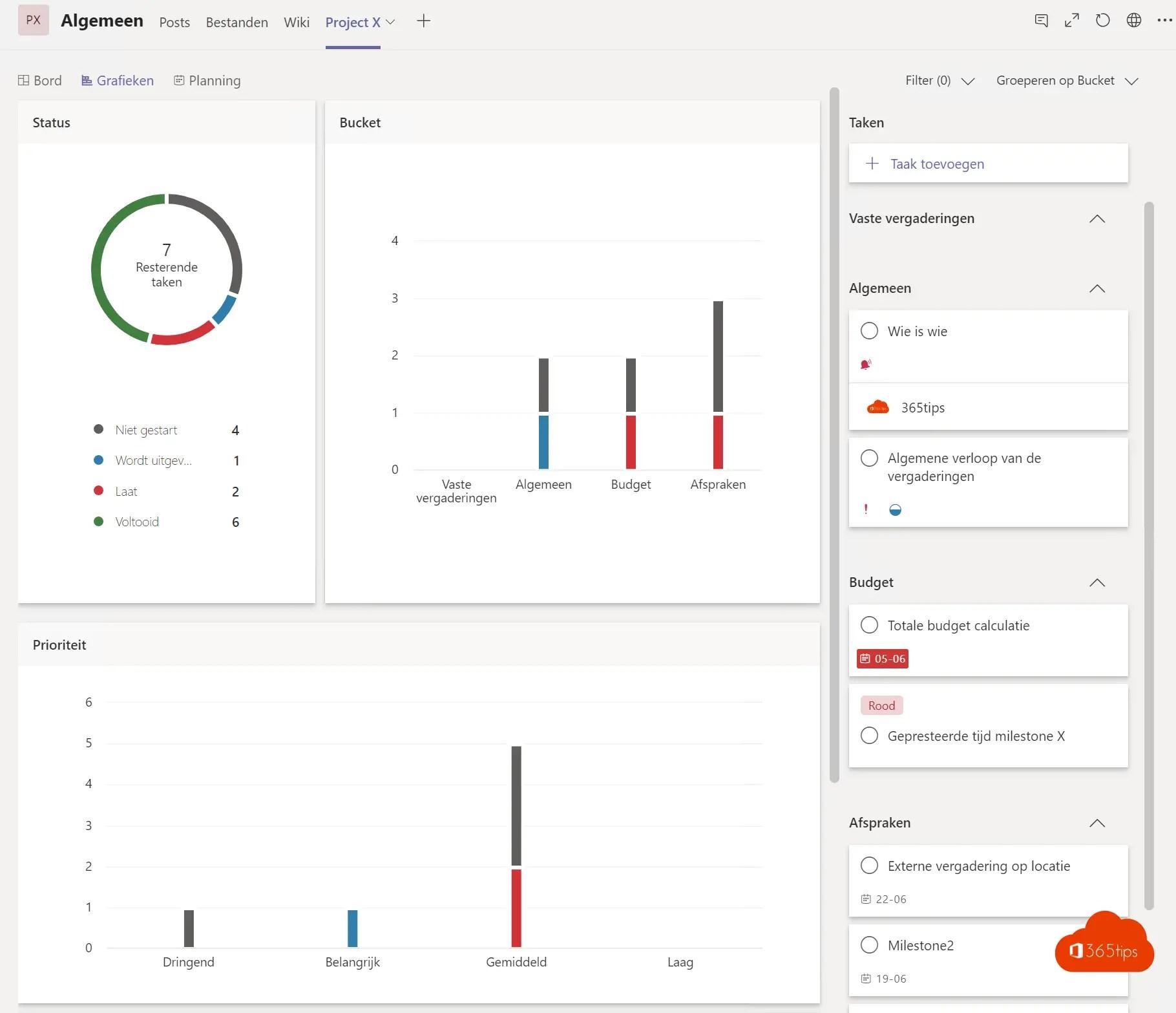 Microsoft Teams inrichten om eenvoudig projecten te beheren