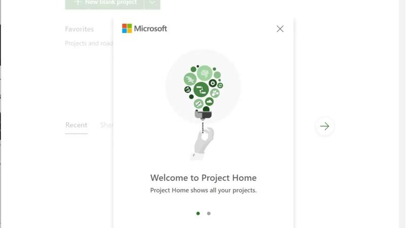 De nieuwe Microsoft Project web applicatie