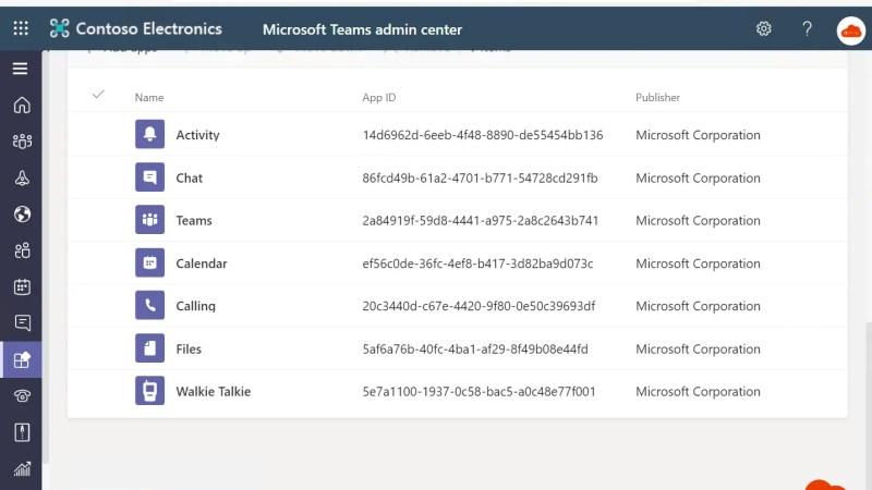 Walkie Talkie-app activeren in Microsoft Teams