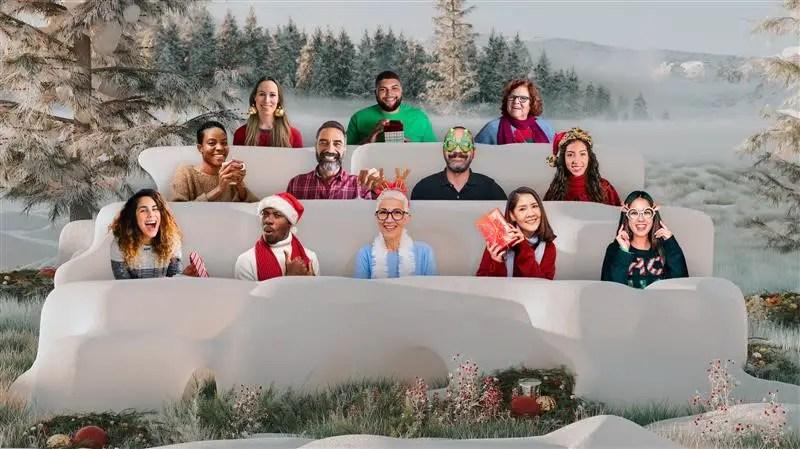 Nieuwe manieren om feestdagen te vieren met Microsoft Teams