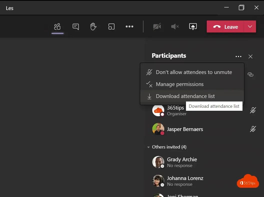 Zo kan je aanwezigheden bijhouden in Microsoft Teams 💻