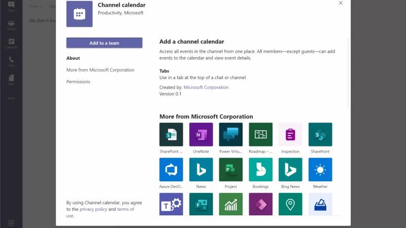 """Handleiding """"Kanaalkalender"""" activeren en gebruiken in Microsoft Teams"""